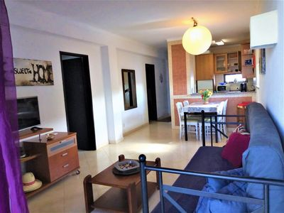 Photo for Sea view Apartment, 100m from the beach Albufeira Algarve WIFI