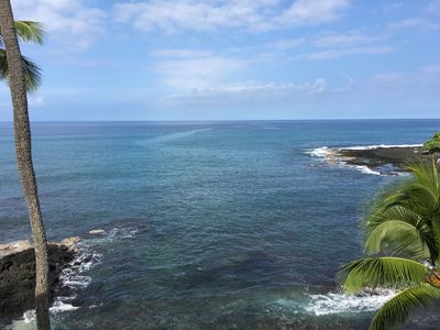 Photo for Deluxe Penthouse Oceanfront Studio with Breathtaking Views and A/C.