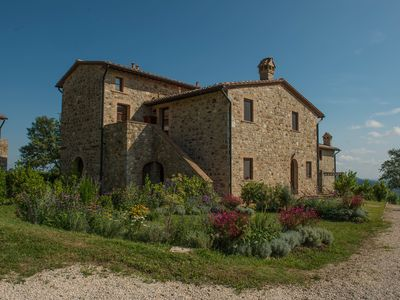 Photo for Tuscany:Ancient Cottage With Panoramic Views,A garden And A Shared Pool- Sleep 5