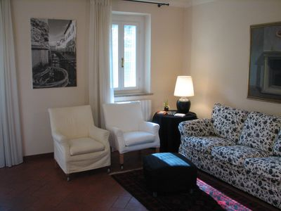 Photo for Bright apartment in downtown Lucca