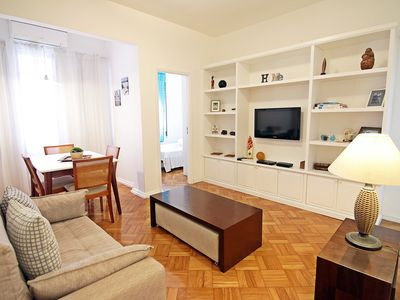 Photo for Best choice! Located in Posto 6 next to the beaches of Copacabana and Ipanema