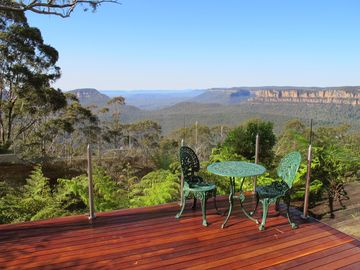 Echo Point Lookout, Katoomba, New South Wales, Australia