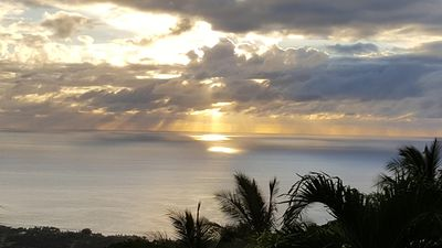 Photo for Beautiful Ocean Views, quiet/tranquil. Above Place of Refuge and Kealakekua Bay.