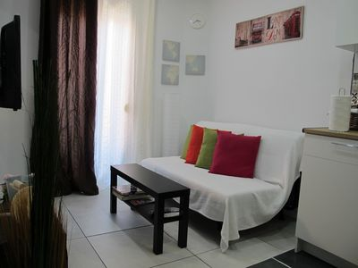 Photo for COZY APT. NEXT TO BEACH AND 14 MIN TO BARCELONA