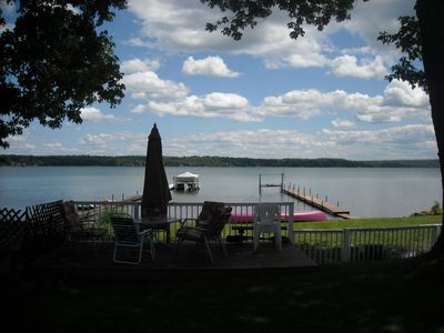 Photo for Charming Updated Home with Panoramic Lake Views.