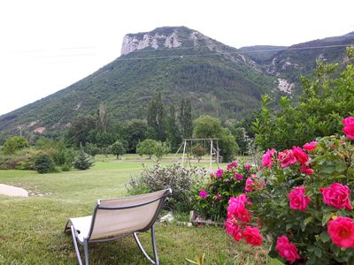 Photo for 2BR Cottage Vacation Rental in Trescléoux