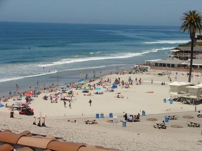 Spectacular View Of Moonlight Beach- Gorgeous Unit W/Air Conditioning