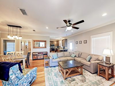 Living Area - Welcome to Gulf Shores! This cottage is professionally managed by TurnKey Vacation Rentals.