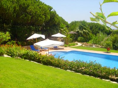 Photo for 5 bedroom Villa, sleeps 10 in Ponte de Cima with Pool, Air Con and WiFi