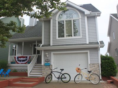 Photo for Walking Distance to the Beach, Beautiful Sunset Views + Voted #1 Beach in NJ...