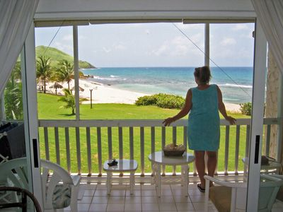 Photo for Caribbean Breeze - Luxury Beachfront Condo at Gentle Winds Resort