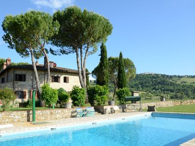 Photo for Cosy Holiday Home in Radda in Chianti with Swimming Pool