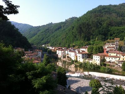 bagni di lucca walking down to town from the villa