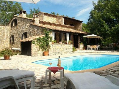 Photo for Villa Estival is a very attractive and comfortable villa, built in traditional style with local ston