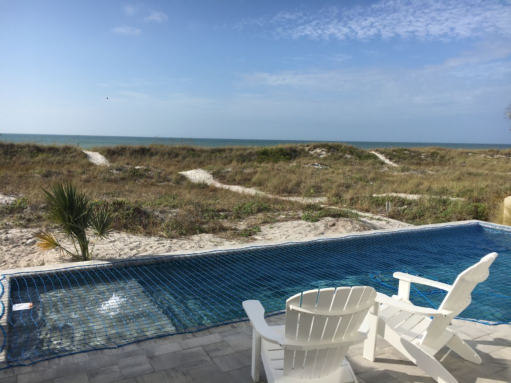 Beachfront House Clearwater Beach Sunsets Pool Monthly Rental Clearwater Beach Florida North