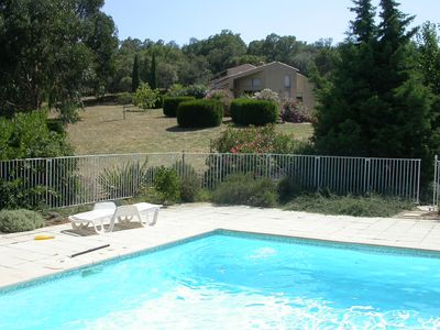 Photo for Rental on the Riviera in La Croix Valmer near Saint Tropez (two hours from Nice)