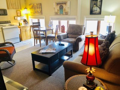 Photo for Beautifully Furnished One Bedroom In The Heart Of Historical Downtown Galena