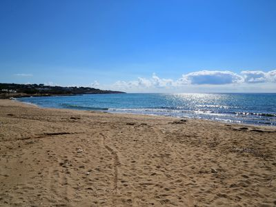 Photo for Apartment overlooking the sea, a few meters from the beach, pizzeria, restaurants ...