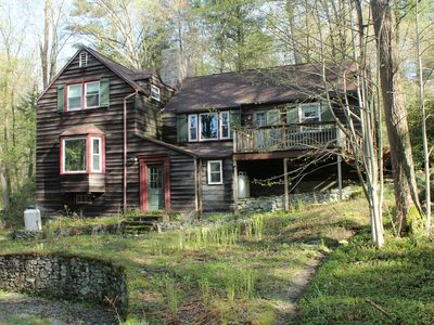 Photo for Peaceful Woodland Home in the Heart of the Berkshires
