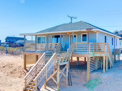 Photo for Beachfront 3 Bedroom Sleeps 6