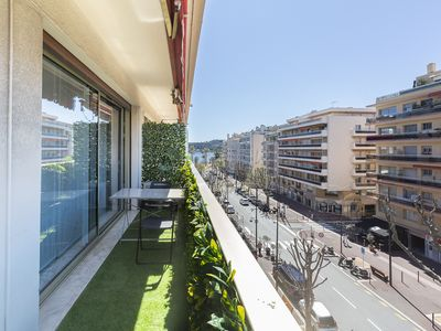 Photo for Quiet apartment in the center of Antibes, close to beaches