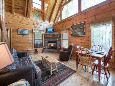 Photo for View Catcher, 2 Bedrooms, Sleeps 6, WiFi, Hot Tub, Pool Table, Arcade
