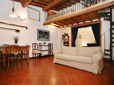 Photo for Loft delicious and bright in the heart of the historic center