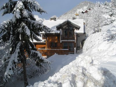 Photo for A stunning two bedroom Chalet in Chatel, Portes de Soleil