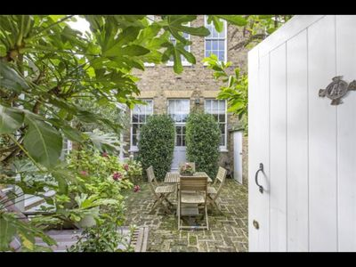 Own private Courtyard and entrance to apartment