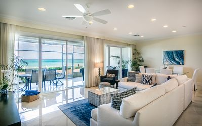 Photo for This Spectacular Ground Floor Unit is Right on the Best Of Seven Mile Beach