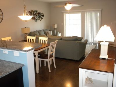 Photo for Beautiful Rehoboth Crossing Townhouse Sleeps 8, with Community Pool