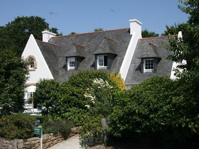 Photo for South Brittany Sainte-Marine..800 m away from the beach.9 people,Wi-Fi,whirlpool