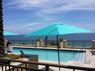 The Pool on the 5th Floor overlooking the Atlantic