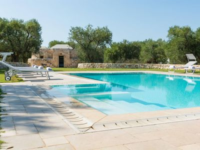 Photo for Luxury villa in Puglia with swimming pool. BBQ.