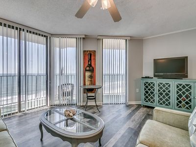 Photo for Summit 7F, 4 Bedroom Beachfront Condo, Pool and Free Wi-Fi!