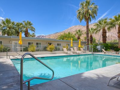 Photo for Updated modern condo w/ shared pool & mountain views - near downtown, 2 dogs OK!