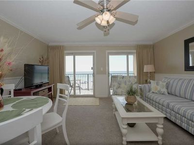 Photo for 18- Sunrise, Sunset, what you see is what you get in this BEACH FRONT Condo- Coral Reef Club