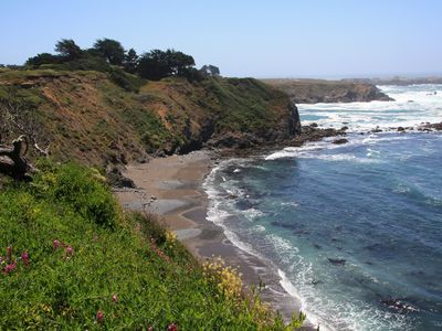 Photo for Mendocino Beach Hide-Away a few steps from Ocean