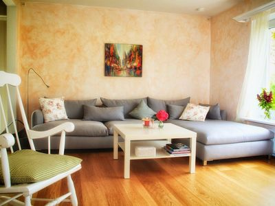 Photo for Wonderful holiday home for the whole family (+ dog) near the beach, about 125