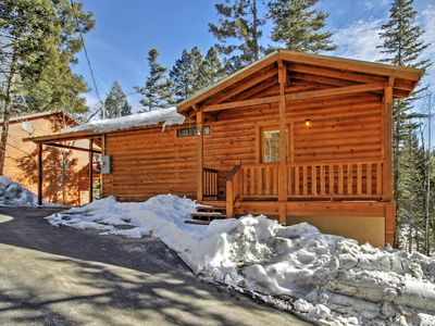 Charming 'Coppertop' Cloudcroft Cabin: 3 Mi to Ski