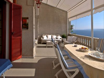 Photo for Salento residence in Castro with sea view and garden - near Otranto and Spa