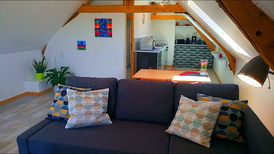 Photo for Nice apartment in the heart of the Châteaux of the Loire (Beauval Zoo)