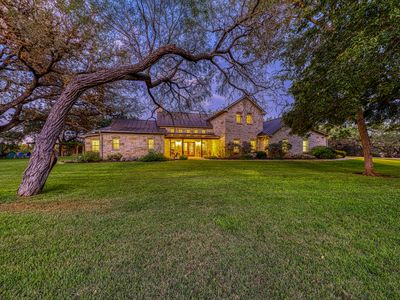Photo for Beautiful luxury wine country riverfront house on the Pedernales - dog-friendly!