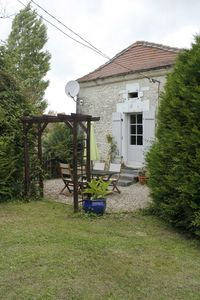 Photo for La Maison du Jardin, a two bedroomed cottage, with amazing views and sunsets.