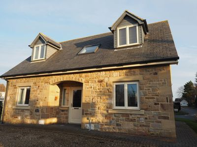 Photo for Holy Island is just 5 minutes away from this superbly equipped cottage.