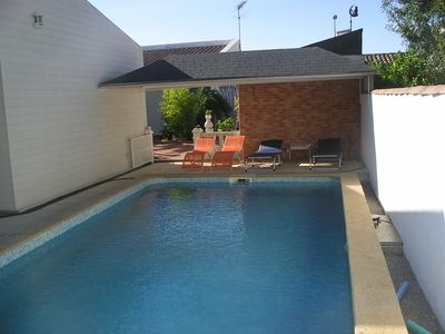 """Photo for GITES """"THE PATIO"""" FOR TWO PEOPLE WITH SWIMMING POOL"""
