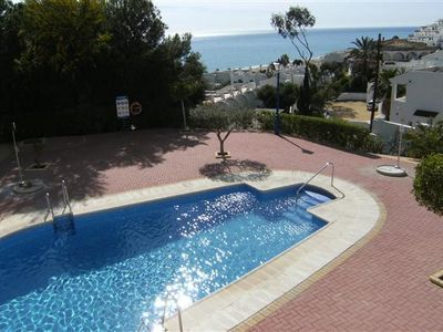 Photo for Large 2 bedroom apartment with stunning sea views, just 5 min stroll to the beac