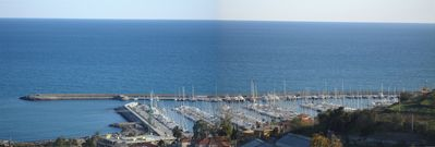 Photo for VILLA DEL MARE LIGURE Apartment semi-detached villa nice sea view 4 bedrooms 2 WC