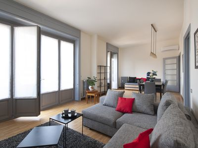 Photo for Elegant 2 bdr with terrace in Porta Nuova district