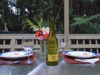 Photo for Volcano Village Cymbidium House - Lush Private Setting - 5 mins 2 National Park & Village